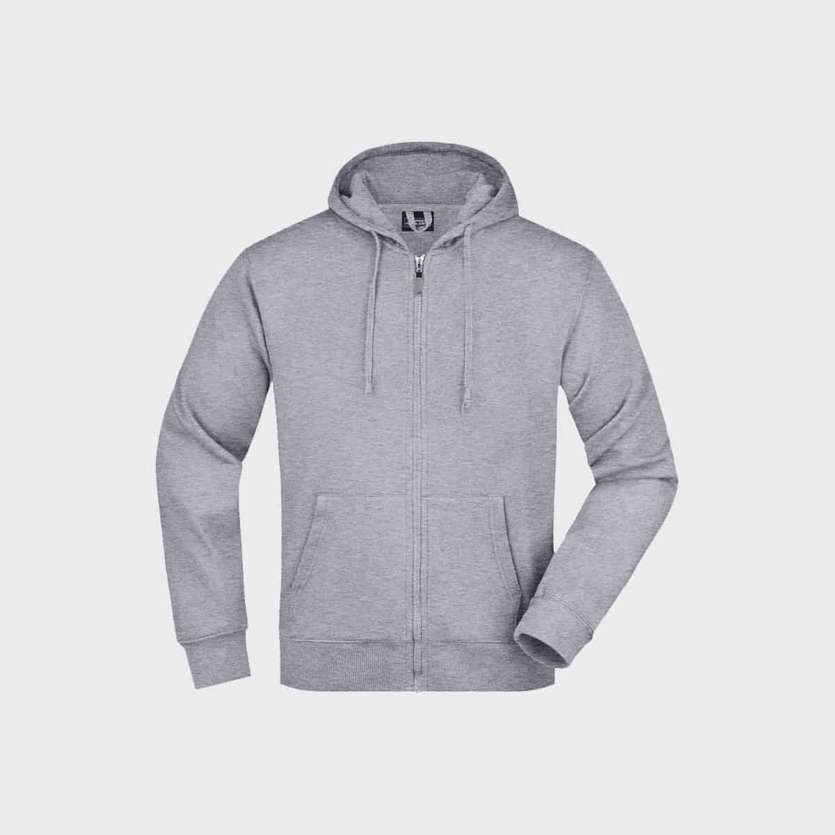 sweatjacke-hoodie-men-grey-kaufen-besticken_stickmanufaktur