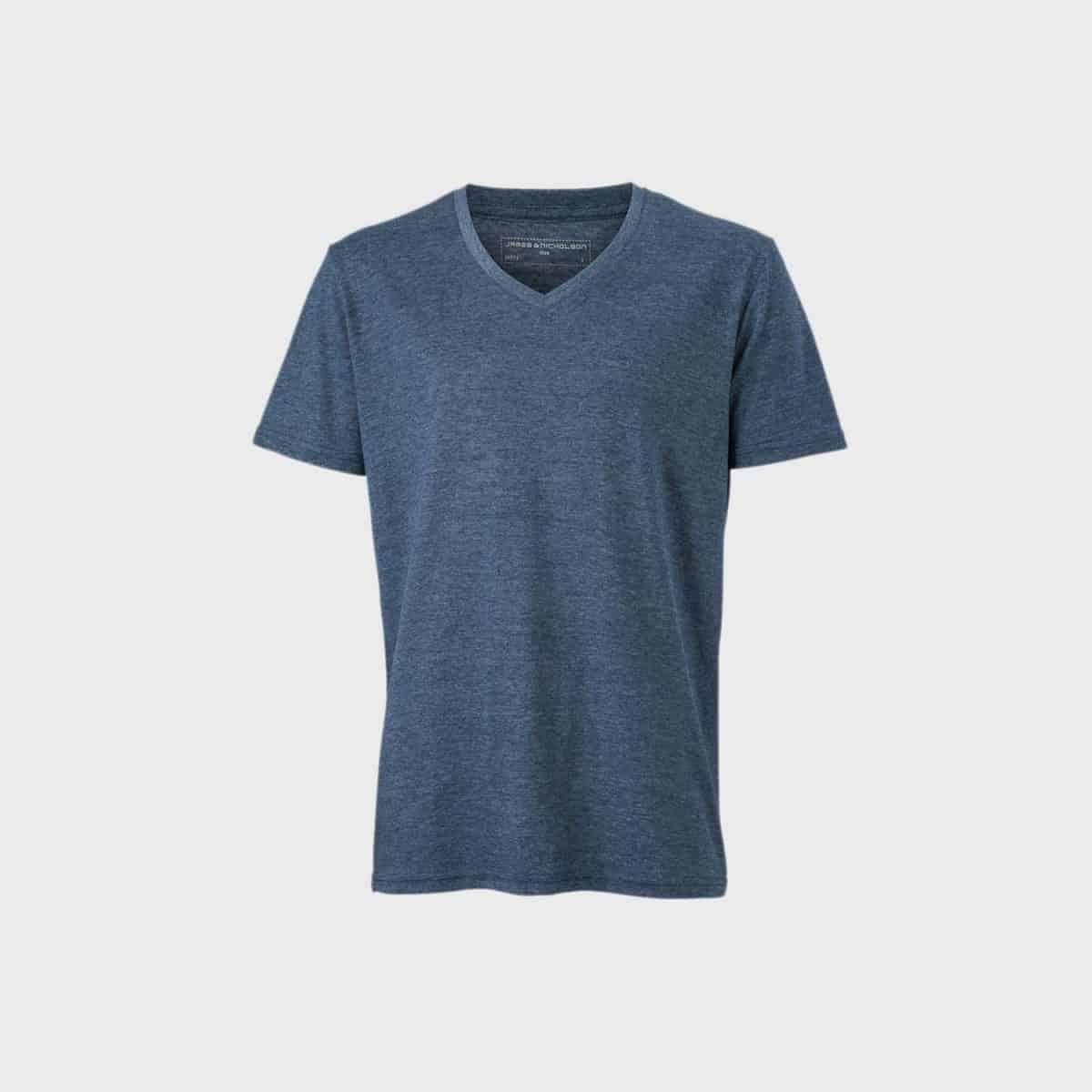 Daiber T Shirts JN974 Bluemelange Front