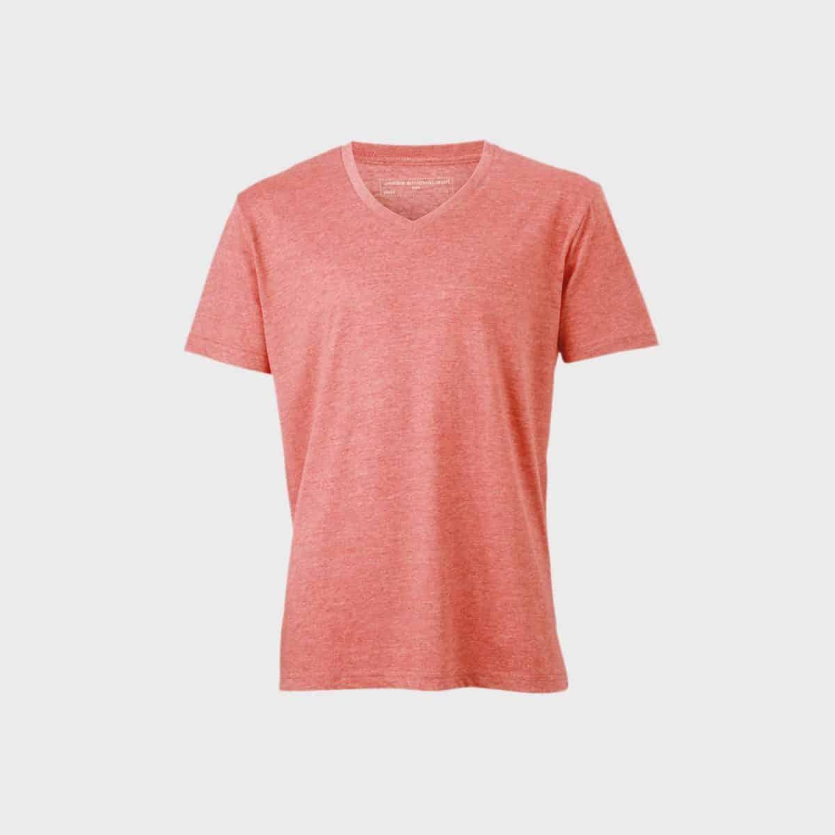 Daiber T Shirts JN974 Redmelange Front