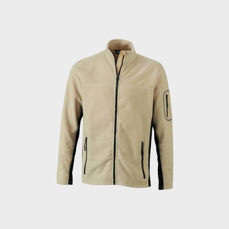 gleece-jacket-workwear-herren-stone-black-kaufen-besticken_stickmanufaktur
