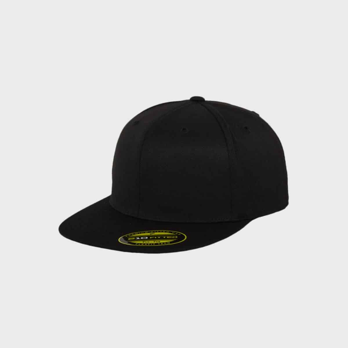 Flexfit FlexfitCaps FFE 6210 Black Front Side