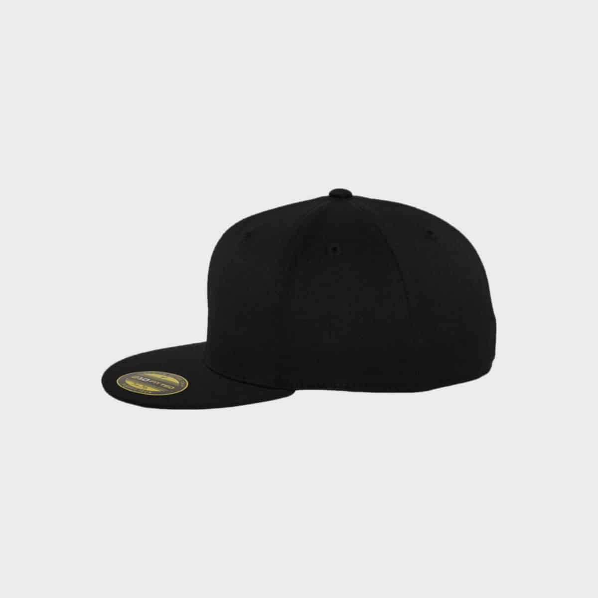 Flexfit FlexfitCaps FFE 6210 Black Side