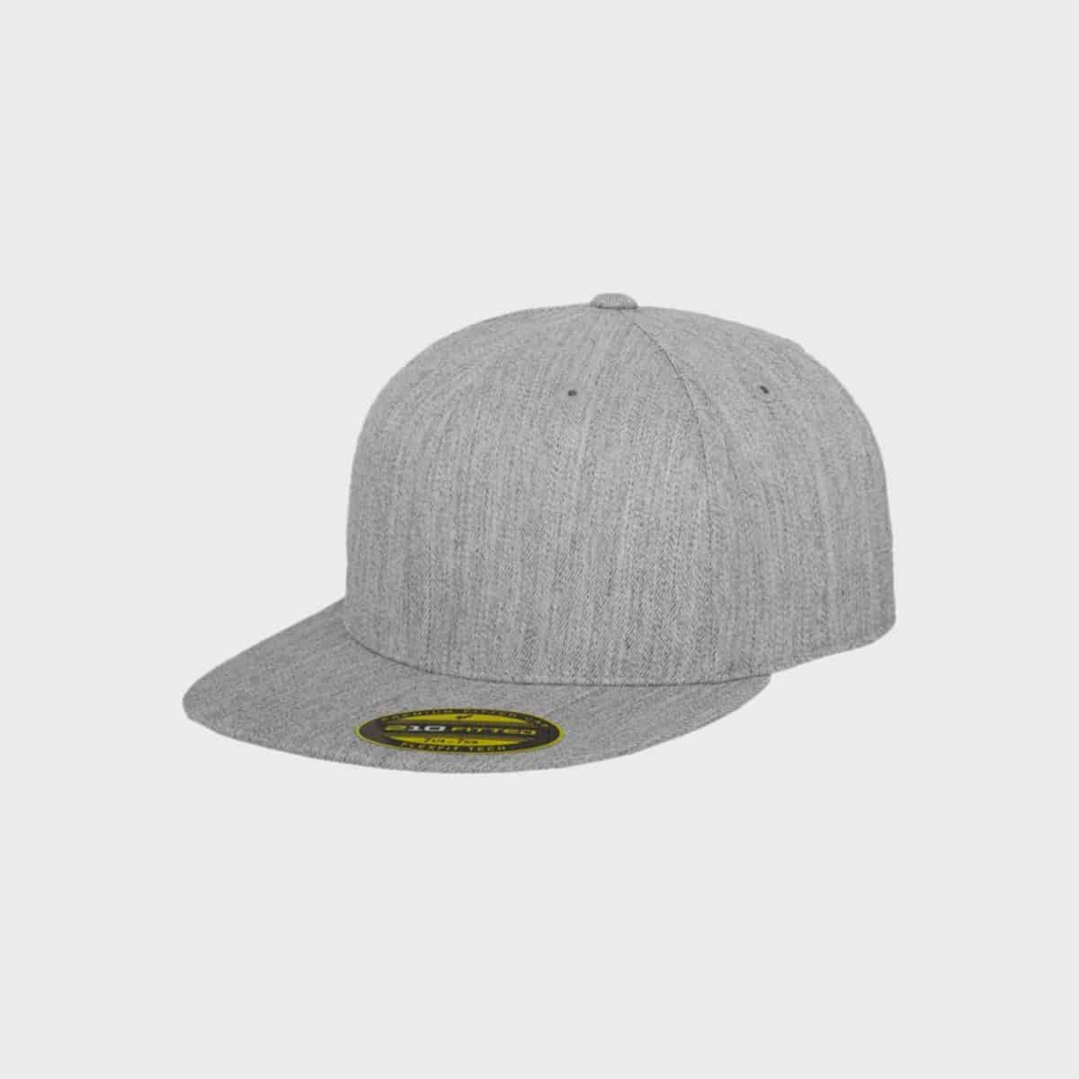 Flexfit FlexfitCaps FFE 6210 Heather Front Side