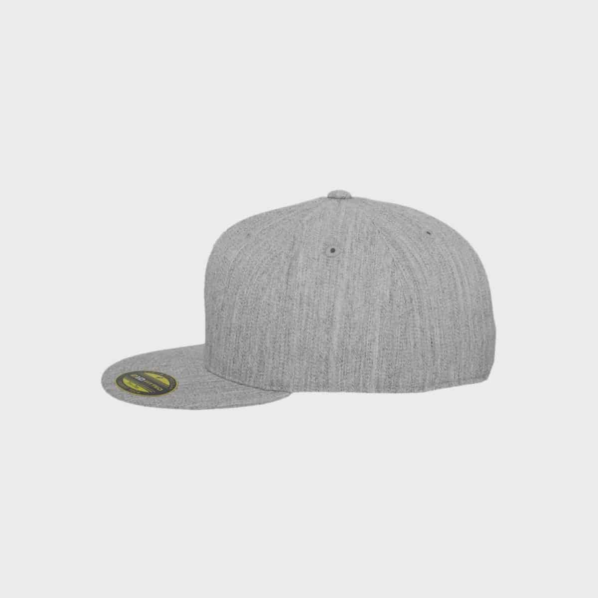 Flexfit FlexfitCaps FFE 6210 Heather Side