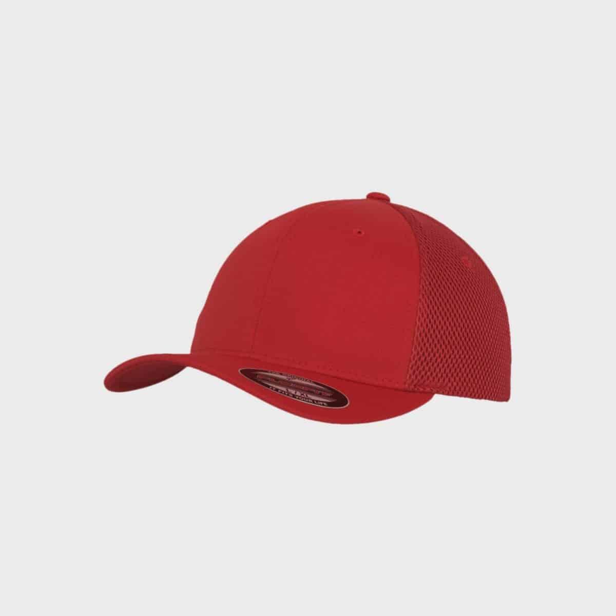 Flexfit FlexfitCaps FFE 6533 Red Front Side