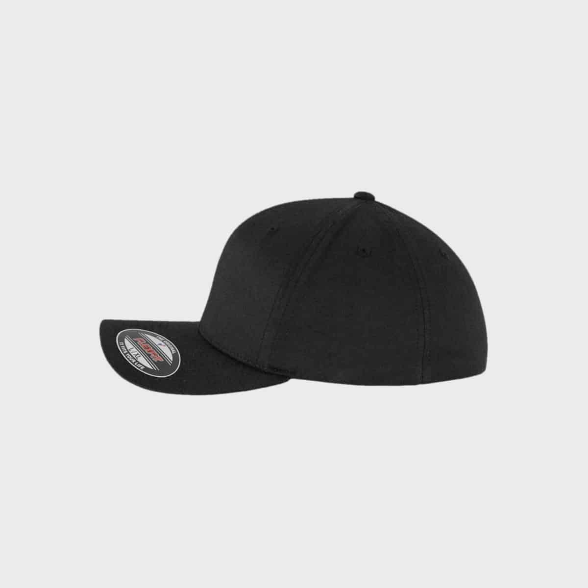 Flexfit MarkenCaps FFE 6588 Black Side