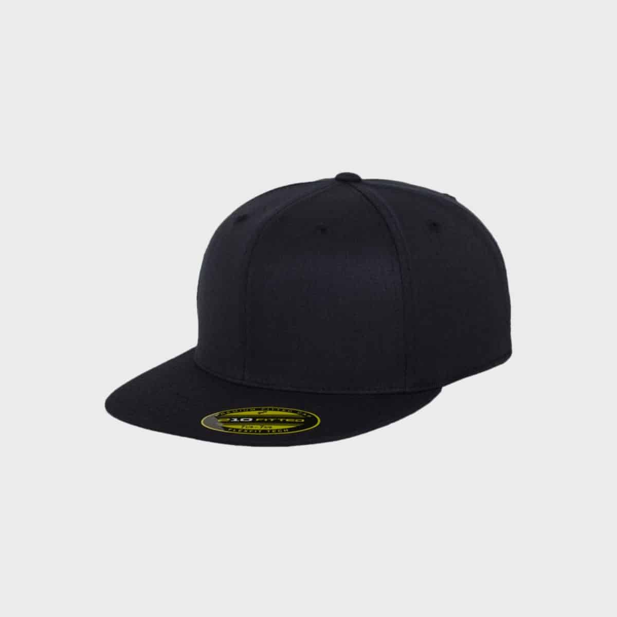 Flexfit Snapback FFE 6210 Darknavy Front Side