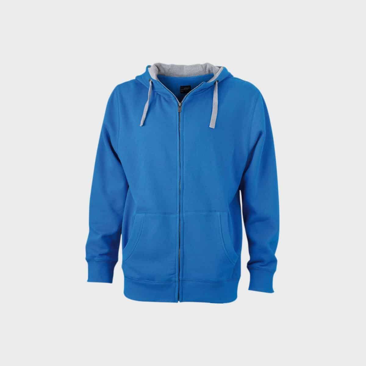 lifestyle-zip-hoodie-sweat-jacke-herren-cobalt-greyheather-kaufen-besticken_stickmanufaktur
