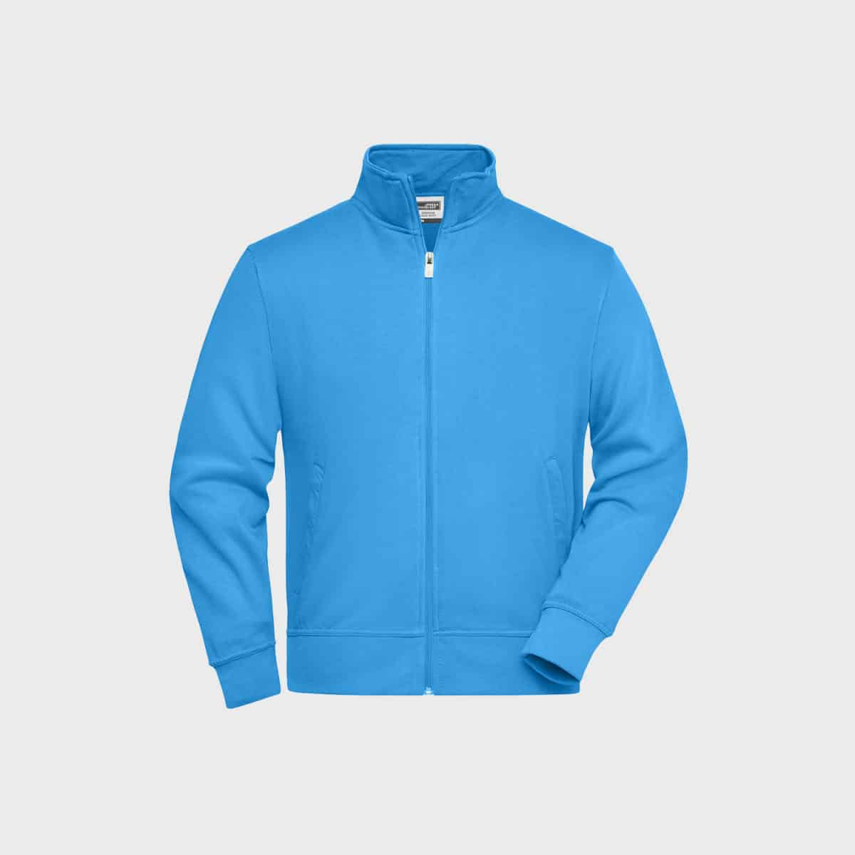 sweat-jacke-workwear-unisex-aqua-kaufen-besticken_stickmanufaktur