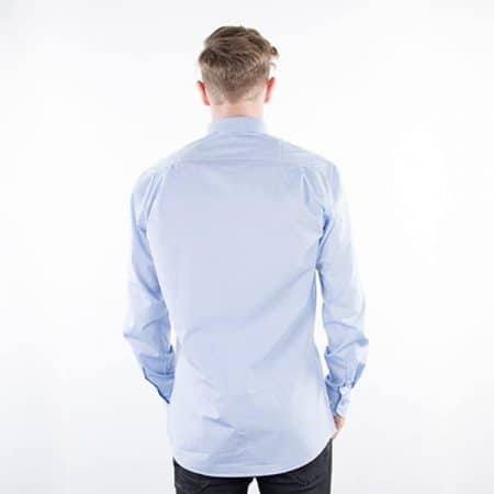 JAMES & NICHOLSON Herren Hemd Plain back