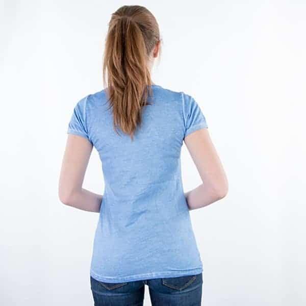 JAMES & NICHOLSON Damen Gipsy T-Shirt Model back