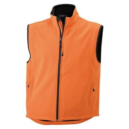 JAMES & NICHOLSON Herren Softshell Weste1
