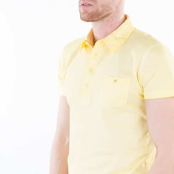 JAMES & NICHOLSON Herren Gipsy Polo Model Detail