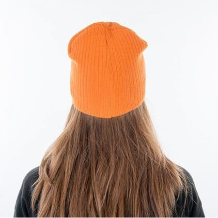 MYRTLE BEACH Rib Beanie Model back