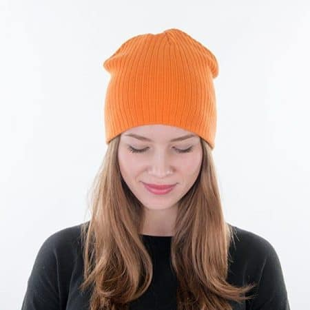 MYRTLE BEACH Rib Beanie Model down