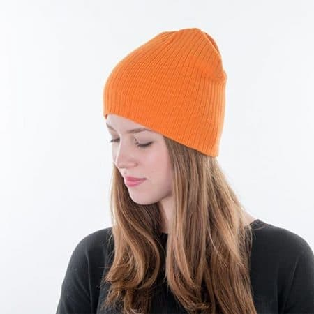 MYRTLE BEACH Rib Beanie Model left