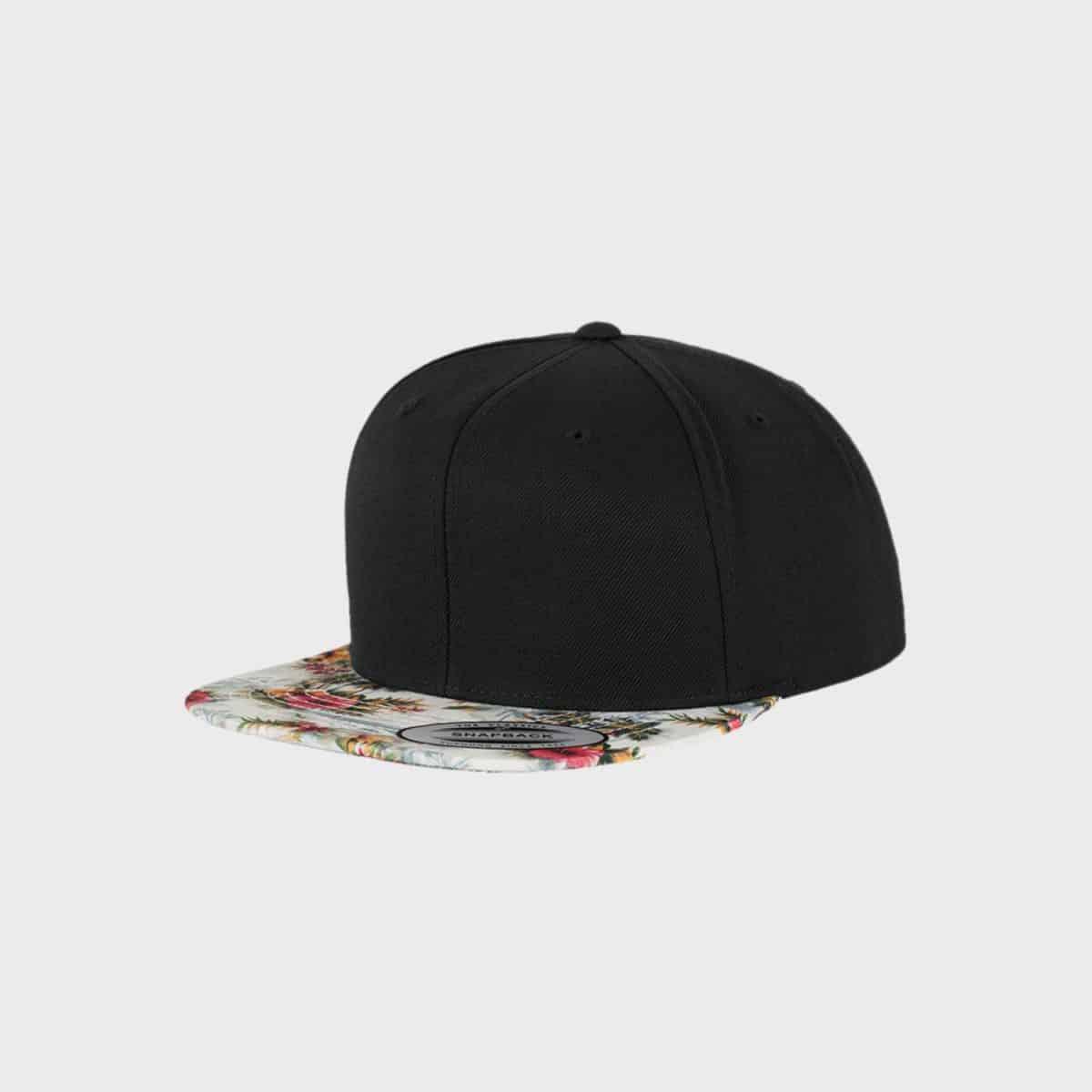 Flexfit Snapback FFE 6089F Black Mint Front Side
